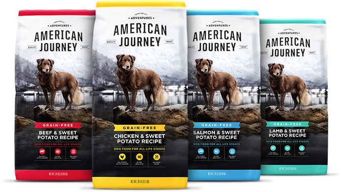 American Journey Dog Food (an affordable 5 star food)