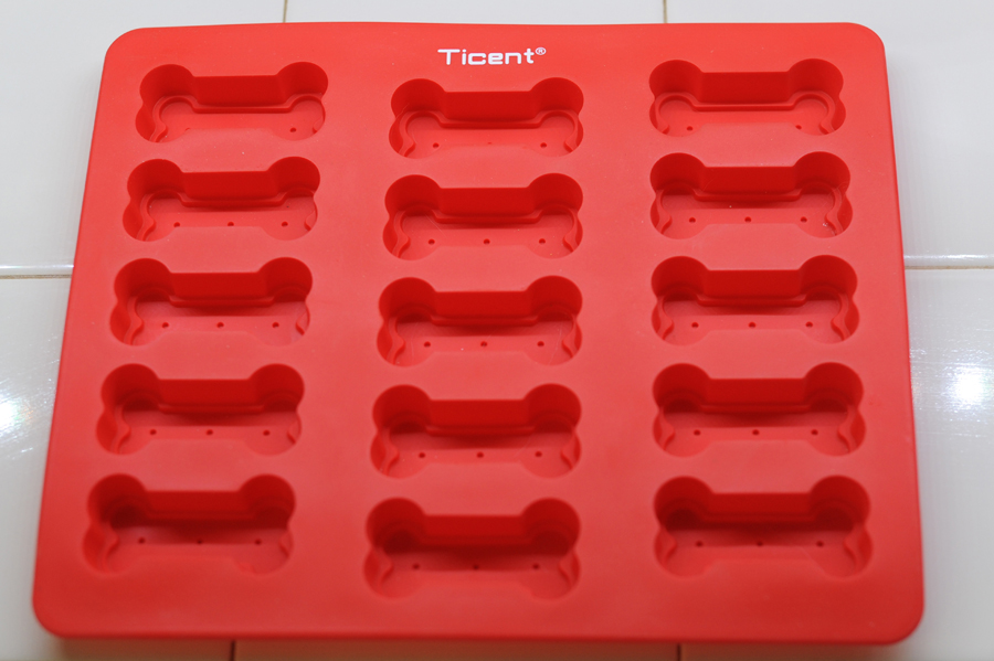 Ticent Dog Bone Treat Mold
